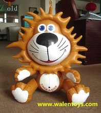 Cartoon Characters Inflatable Lion,inflatable lion model,animal model for advertsing