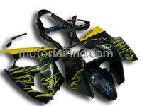 For Kawasaki Ninja ZX-6R 00-02 fairing/Motorcycle bodykit/body part/body fairing yellow/black