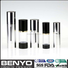 Free Sample popular transparent airless bottle
