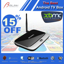 2015 Cheapest and Best Quad Core RK3188 Best Android TV Box 2GB RAM 8GB ROM with Bluetooth 4.0