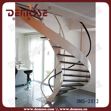 indoor stairs designs / curved staircase designs