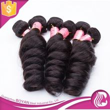100% Full Cuticle Tangle And Shed Free Direct Factory Fish Wire Hair