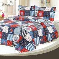 100% cotton flannel fabric for christian baby bedding sets