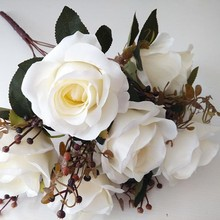 High quality plastic artificial flowers bouquets