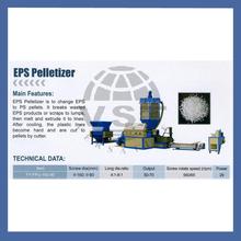 Pelleting plastic line/ plastic pelletizer pp pe /plastic pelletizing extrusion line