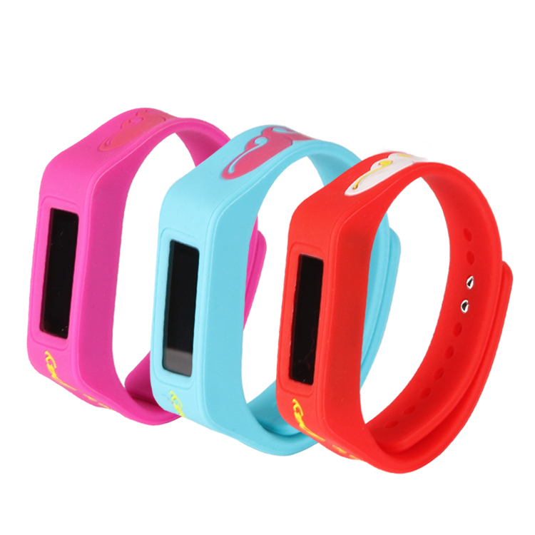 gps tracking bracelet device silicone waterproof gps