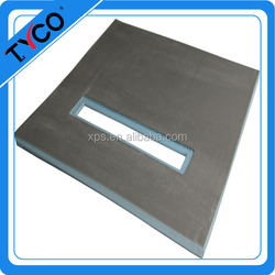 hot sell fiberglass shower tray thermal insulation XPS cement floor board