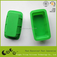 Eco-friendly Silicone cute rectangle Cake Mould/microwave oven