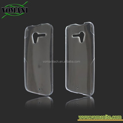 Transparent Skin Hard clear case for Moto X cell phone cover