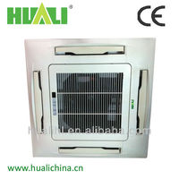 High Efficiency Top Quality Air Conditioner 4 Way or 2 Way Ceiling Cassette Fan Coil Unit for Heating or Cooling