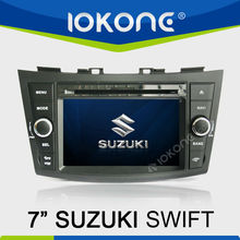 Double Din 7 inch Touch Screen Car DVD GPS for Suzuki Swift