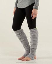 wholesale fashion solid color women dance leg Warmers