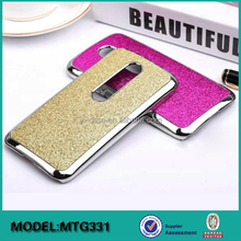 Wholesale aluminum mobile phone accessories hard case PU leather for motorola Moto G3 G 3 3rd Gen 2015 xt1064