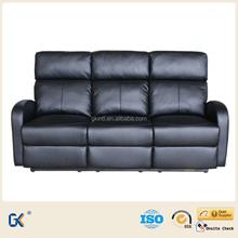 Comfortable home cinema leather sectional sofa