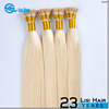 China Alibaba Wholesale Durable Straight 100% Cheap remy human hair i tip hair extension