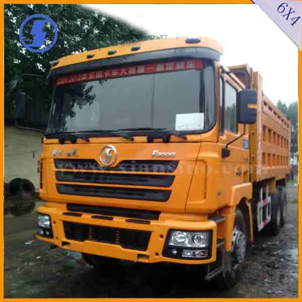 shacman Trung Quốc bãi chứa xe tải nặng 6x4 336hp bãi chứa xe tải bán