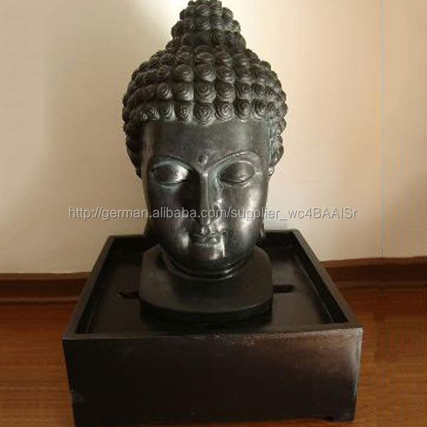 k nstlicher wasserfall resin buddha kopf brunnen zu verkaufen. Black Bedroom Furniture Sets. Home Design Ideas