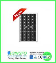 pane solar 50w 75w 80w 100w 150w 200w 300w factory solar panel price SFP17072