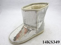 Silvery sequins Lady Boots