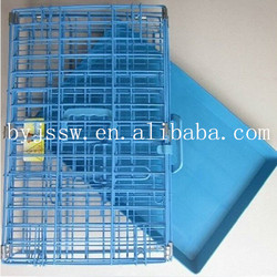 Metal Dog Cage, Double-Door Dog Crate ,Dog Kennel For Sale