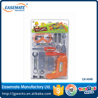 Battery Operated Plastic Kids Tool Toys Mini Tool Set Children Play Funny Tool Toys