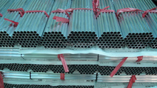 large diameter aluminum pipes