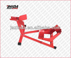 Motorcycle position stand for front wheel
