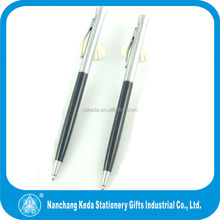 2014 new style best seller smoothy writing hotel metal slim twist cheap promotional ball pen