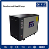 Minus 25C cold area heating room by 55C hot water 10Kw/15Kw/20Kw/25Kw brine water to water ground source heat pump dhw