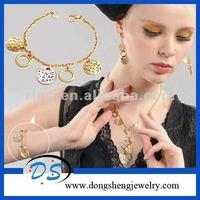 african fashion jewelry sets fair sex metal leopard bracelet bangle
