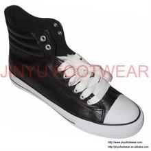 Popular canvas high top shoe