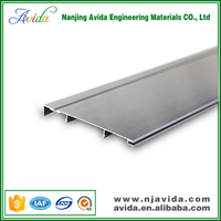 Decorative laminate flooring white skirting board