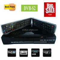 Best sale dvb-s2 set top box digital satellite receiver frequency for Dubai receiver