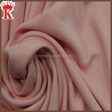 King fabric textile wholesale 68%rayon 28%nylon 4%spandex ponte roma knit fabric for fashion dress