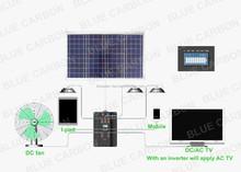 solar lighting system 100w solar energy
