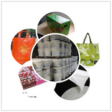 Shandong BOPP film composite adhesive FOR Packing bag, gift bag, paper box