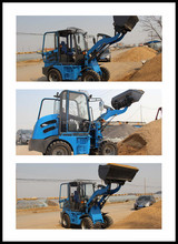 2015 New Type Articuolated 0.8 Ton Small Loader with Front End Loader for Industrial and Farming Construction zly908 hot sale