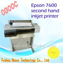 Hot Sale Second Hand E pson 7600 Printer For Wide Format Printing