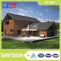 Prefabricated new type steel villa house for sale in alibaba