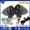 Super brightness Mountbike Mini hot selling led strobe headlight 10W 10-30V DC for yamaha fz16