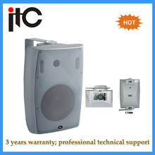 High power Audio powered in wall mount speakers