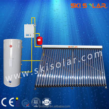 2015vacuum tube solar water heater: separate solar thermal storage system with double Heat Exchangers