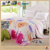 Hot sale wholesale super soft flannel blanket sheets