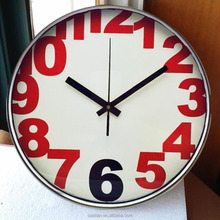metal wall clocks antique ,home decoration for new year