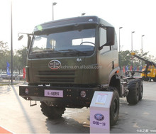 Chinese truck FAW 290hp 6x6 off-road lorry cargo truck for sale