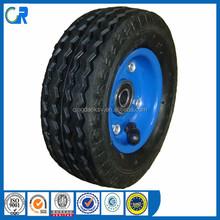 China Qingdao High Quality small rubber 6 inch pneumatic wheel