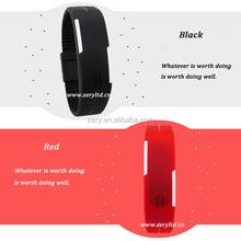 R0775 digital watch silicone, custom silicone led watches