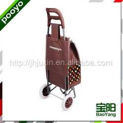 foldable trolley shopping bag promotional neoprene collapsible wine cooler bags