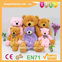 Happy kid toys!!!wholesale different size teddy bear,teddy bear factory china,giant teddy bear plush toy