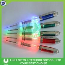 Best Logo Promotional Flashing Led Pen, Light Led Pen, Light Up Pens